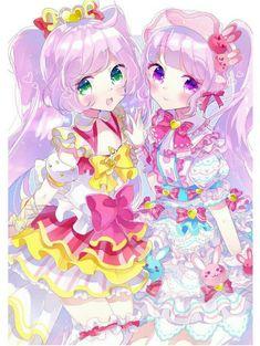 Idol time pripara (Solami With) - chap 4 Manga Kawaii, Kawaii Chibi, Kawaii Cute, Manga Anime, Anime Art, Miku Chibi, Chibi Girl, Friend Anime, Anime Best Friends