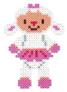 Lambie - Disney Doc McStuffins Hama perler beads  - 7945 - HAMA