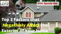 We devote a lot of time making the outside of our residence look nice, but after a few years, it doesn't look good any more. What things negatively affect the exterior of your home? #homeexterior #homemaintenance #chicagoland #lotzofanswers