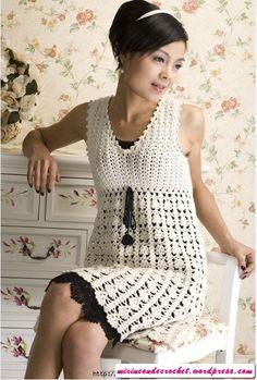 Otro clásico de siempre!!!! - dress - free #crochet pattern