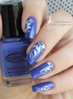 Smally's beauty blog: Color Club 967 The Limelight + слайдеры BlueSea Y003
