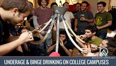 5 sobering facts about binge drinking on college campuses