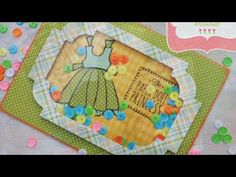 Interactive cards video tutorial and how to add acetate sheets to your cards Interactive Cards, Cricut Cards, Make Your Own, How To Make, Shaker Cards, Kids Cards, Your Cards, Embellishments, Baby Kids