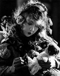 Lillian Gish... my great-great-great aunt and one of the most famous silent film stars of all time.