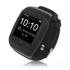 ZGPAX S12 1.54-inch Touch Screen MTK6260 Bluetooth Smart Watch Phone Sale - Banggood.com