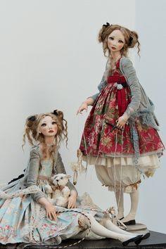 """umla: """" (via Кукольная выставка DollArt 2013   all things sweet) """""""