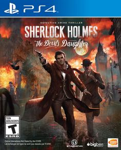 Amazon.com: Sherlock Holmes: The Devil's Daughter - PlayStation 4: Video Games