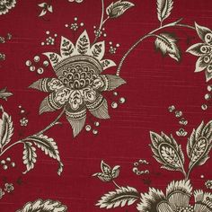 Tritex Fabrics Pacifica Collection - Darcy - Currant. Wonderful cotton fabric that is great for window coverings, accessories & bedding! Available to the trade through ww.w.tritexfabrics.com