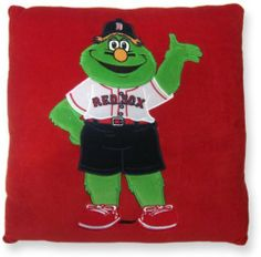 Originalboston Red Sox Green Pillow -Affordable Gift for your Loved One! Item #DA4L-196553C by Red Sox. $14.95. Amazing gift for a Red Sox fan of any age!. Measures 16 by 16 inches (measurements may vary due to fill); imported. Decorative accent pillow featuring the famous Boston Red Sox Green Monster. Brand new, in original box, ships directly from our warehouse.. Cover and fill are made of 100% polyester; spot clean only.. This attractive accent pillow by Red Sox features apli...
