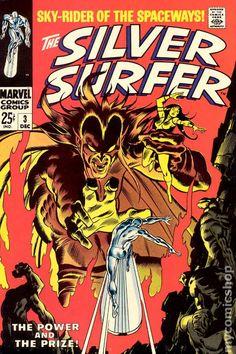 SILVER SURFER 3, SILVER AGE MARVEL COMICS