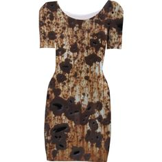 Rust Dress Too from Print All Over Me