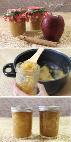 Prepara mermelada casera de manzana y canela para esta navidad. Mira mi receta deli y sencilla.