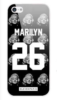 Paris Coque Marilyn 26 cell phone case for iPhone 4s 5s 5c 6 Plus iPod touch 4 5 Samsung Galaxy s2 s3 s4 s5 mini note 2 3 4 cases