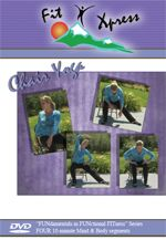 Chair Yoga. Pinned by pttoolkit.com your source for geriatric physical therapy resources.