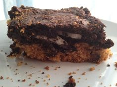 GF Slutty Brownies - I am so so making this!  For next time we get together @Allison Hickenboth?