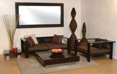 60 Wooden Sofa Set Designs for Living Room 2018.
