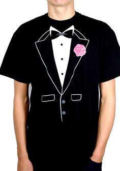 Camiseta esmoquin