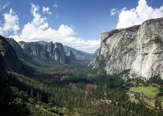 """Taken from a lookout along the """"Four Mile Trail"""" at Yosemite"""