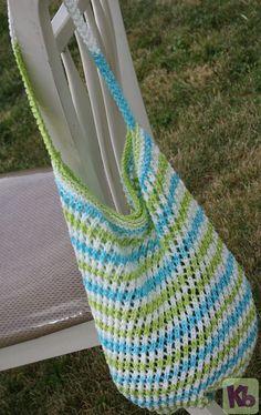 Market Bag - Free Loom Knitting Pattern
