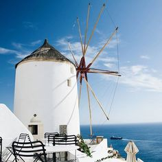 Thira, Kyklades, Greece ... We love this great snap from @wfa31! Thanks for sharing with the world! . #kyklades #greece