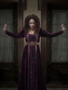 """Penny Dreadful Sarah Greene as """"Hecate Poole"""" Eva Green Penny Dreadful, Penny Dreadful Season 2, Penny Dreadful Tv Series, Vanessa Ives, Hecate Poole, Penny Dreadfull, Sarah Greene, Best Television Series, Medieval Clothing"""