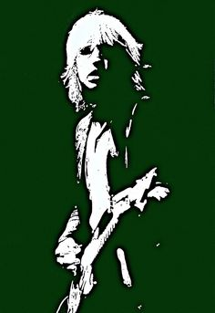 TOM PETTY Art Poster Rock and Roll songwriter by StoneyPrints, $18.00