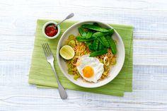 Nasi met witte kool en een gebakken ei - Recept - Allerhande