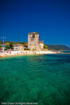 Ouranoupolis, Chalkidiki Beautiful World, Beautiful Places, Macedonia Greece, Places In Greece, Greek Isles, Future Travel, Tuscany, The Good Place, Places To Visit