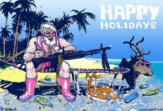 Highly Questionable Santa 2008 Santa Christmas, Christmas Cards, Happy Holidays, Movie Posters, Christmas E Cards, Happy Holi, Xmas Cards, Film Poster, Christmas Letters