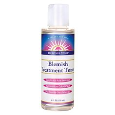 Blemish Treatment Toner Heritage Store 4 oz Liquid *** Check out the image by visiting the link.