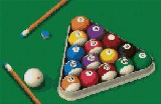 Billiard Cross Stitch