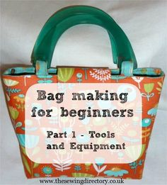 Guide to essential bag making skills
