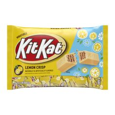 Chocolate Brands, Mint Chocolate, Kit Kat Flavors, Cookie Flavors, Mint Gum, Kit Kat Bars, Disney Gift Card, Easter Breaks, Yellow Candy