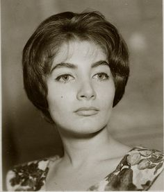The Egyptian Princess Shahnaz Pahlavi, circa 1960s. Note the remarkable similarity to the famous bust of Nefertiti in Berlin.