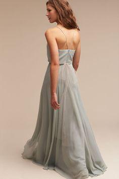6f1b420410dd Morning Mist Inesse Dress | BHLDN Bhldn Bridesmaid Dresses, Bridesmaid  Flowers, Wedding Bridesmaids,