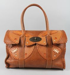 MULBERRY-Tan-Leather-Bayswater-Rio-Butterfly-Shoulder-Handbag 6488a24e85855