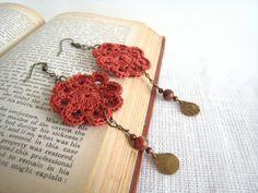 crochet earring - Google keresés