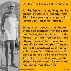 Enlightenment Quotes, Spiritual Quotes, Qoutes About Love, Inspiring Quotes About Life, Advaita Vedanta, Ramana Maharshi, Philosophical Quotes, Awakening Quotes, Well Said Quotes