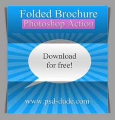 Free Fold Paper Photoshop Action (have to be a registered user, free)