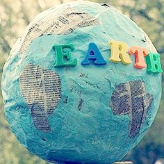 Celebrate Earth Day with 28 Earth Day Activities for Children and Earth Day Crafts for Kids