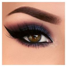 36 Flattering Ideas for Light Brown Eyes Makeup ❤ liked on Polyvore featuring beauty products, makeup and eye makeup