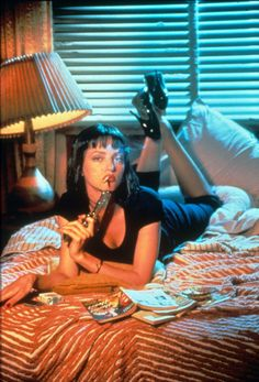 Uma Thurman in Pulp Fiction More