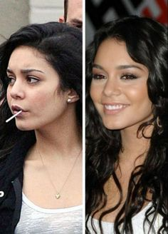 Vanessa Hudgens - Hollywood Female Celebrities without MakeUp [#celebs]