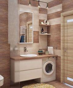 Modern Bathroom Floor Plan - Modern Bathroom Floor Plan , Small Bathroom with A Walk In Shower Modern Laundry Rooms, Modern Bathroom Decor, Laundry Room Design, Bathroom Design Small, Bathroom Layout, Bathroom Interior Design, Wood Bathroom, Modern Decor, Bathroom Designs