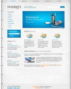 Free Education Website Template