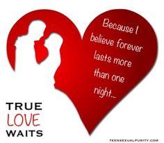 true love waits activities