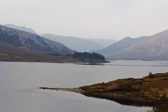 """Saatchi Art Artist Ashish Agarwal; Photography, """"Small strip of land projecting into a Loch and rugged outdoors in the Scottish Highlands"""" #art"""