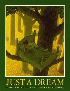 Just a Dream by Chris Van Allsburg is a beautiful picture book about a boy named Walter who sees what will happen to the Earth if we don't take better care of it. What a great introduction to environmental issues. Teaching Science, Teaching Reading, Teaching Ideas, Reading Bingo, Reading Help, Elementary Science, Science Books, Upper Elementary, Teaching Tools
