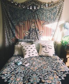Bohemian Bedroom :: Beach Boho Chic :: Home Decor + Design :: Free Your Wild :: See more Bedroom Style Inspiration @loverofficial