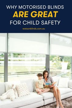 Looking for the ultimate window treatment that is convenient and safe to install at home? Check out the many reasons why motorised blinds are the ultimate for child safety and convenience right here.  #MotorisedBlinds #ChildSafeWindowTreatment #AutomatedBlinds #WindowTreatmentCanberra
